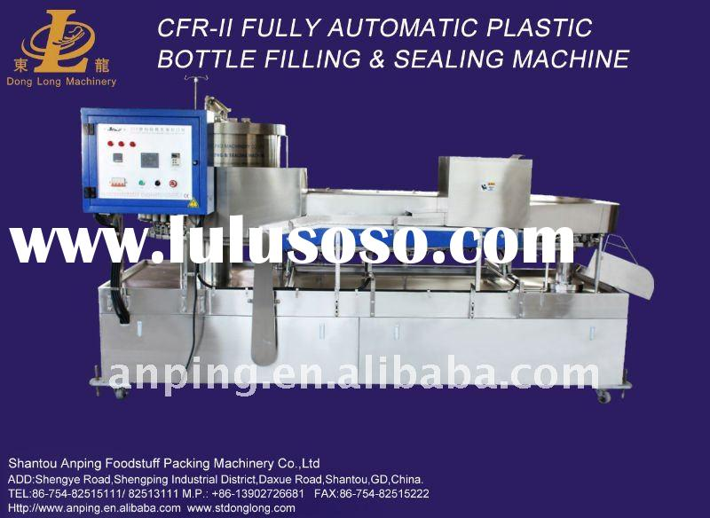 CFR-II Fully Automatic Plastic Bottle Filling & Sealing Machine
