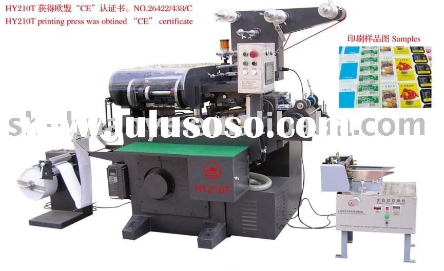 CNC Adhesive label printing machine (1-4 Colors Offset Ink)