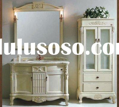 Chinese Antique Solid Oak Wood Bathroom Cabinet/Bath Vanity/ Bathroom Furniture/Bathroom Cabinetry