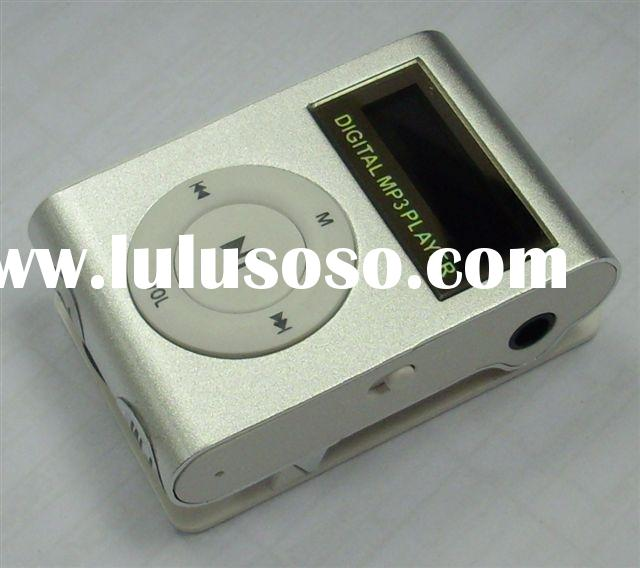 Chip MP3 player, Fashionable music player,mp3 player with FM