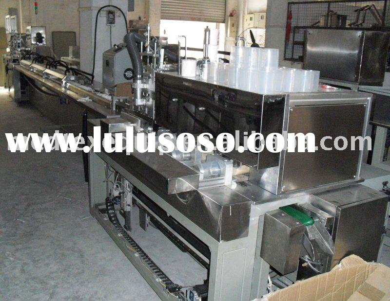 Cotton swab automatic making and packing equipment