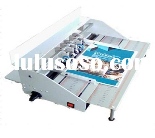 Creasing and Perforating Machine with CE certificate