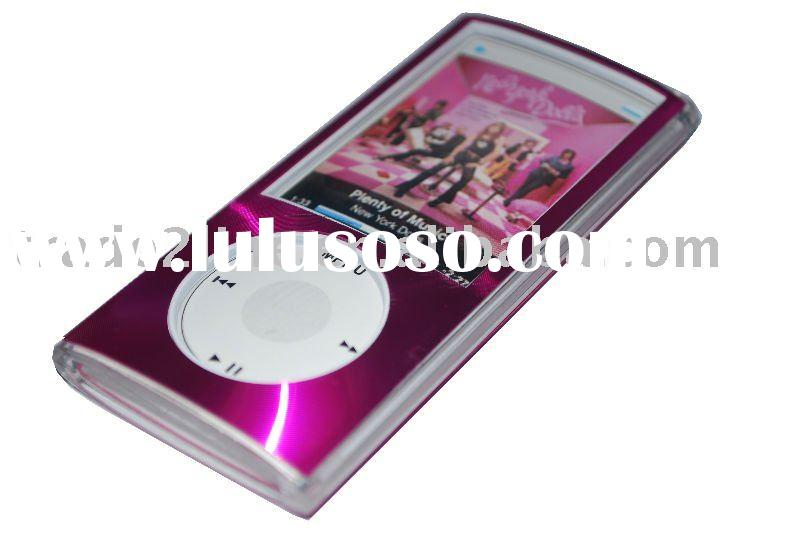 Crystal Aluminum Chrome Case for iPod nano 5th Generation/ipod case