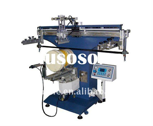 Cylindrical Screen Printing Machine/automatic printing slotting die cutting machine/carton making ma
