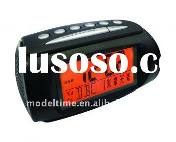 DAB+/FM PLL Radio with Alarm Clock Radio big LCD Display