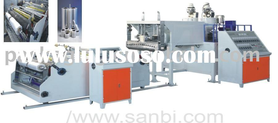 DF-65*2 Double-layer Co-extrusion Stretch Film Machine (Automatic Winder)