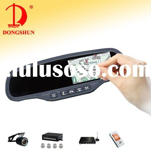 "DS-435GA 4.3""car rearview gps navigation Built-in bluetooth with SD card slot/mp3/mp4"