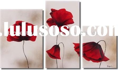 Decorative Flowers Painting(modern art oil painting)