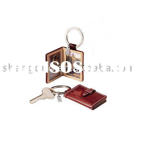 Digital Photo Keychain & leather gift