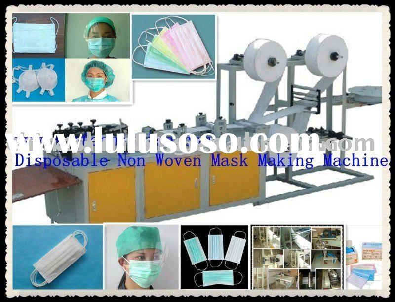 Disposable Non Woven Fabric Mask Making Machine