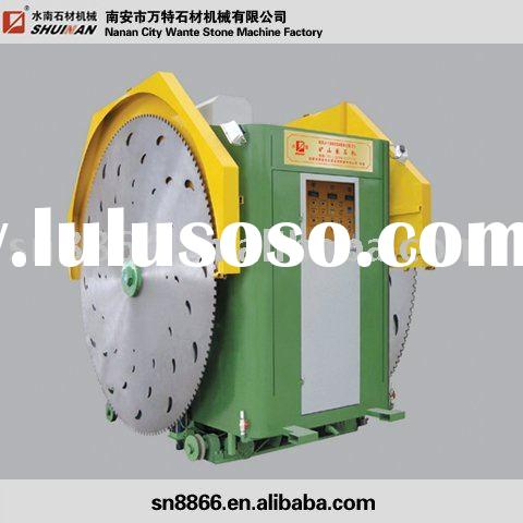Double blade marble quarry machine