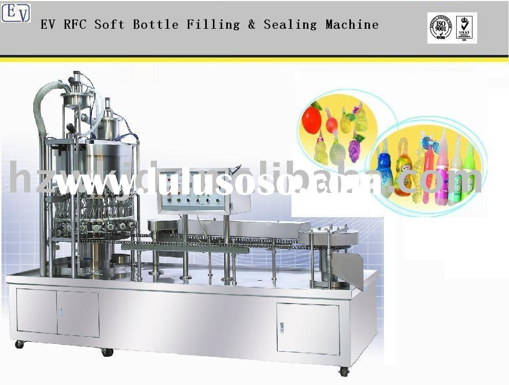 EV RFC Automatic Soft Bottle Filling and Sealing Machine