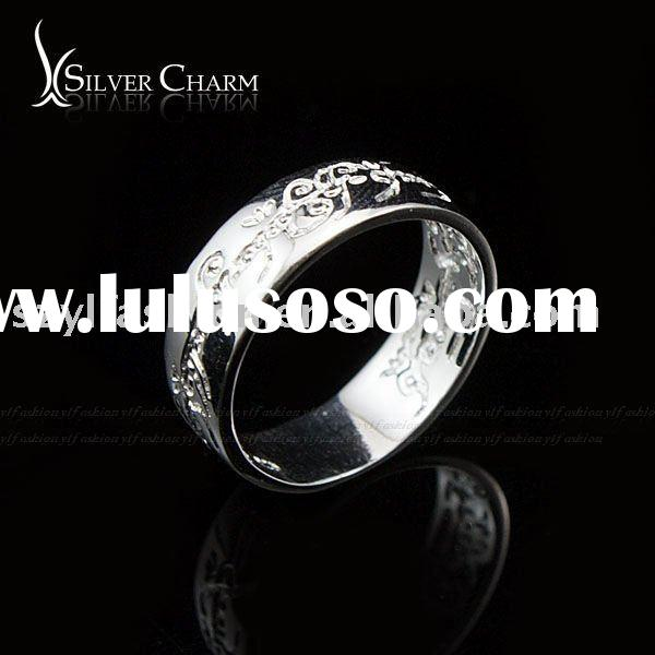 Elegant Jewelry, 925 Sterling Silver Magic Ring RE126