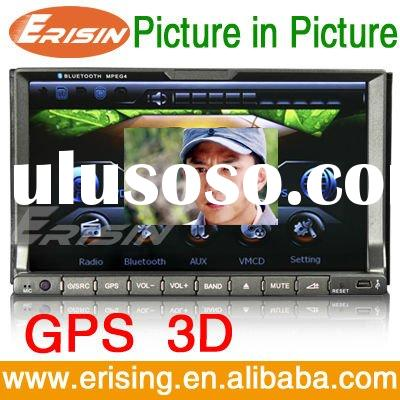 "Erisin 7"" 2 Din Auto DVD Player GPS TV USB SD MP3 Radio cd"