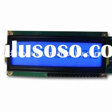 FSTN Black and White 16 x 2 lcd display module with Blue LED Backlight