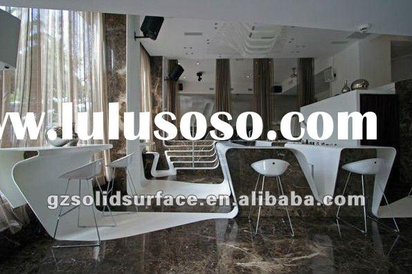 Fashion trend Corian marble dinning table top
