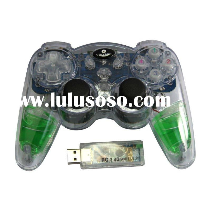 For PS2 2.4G virbration wireless game pad\controller