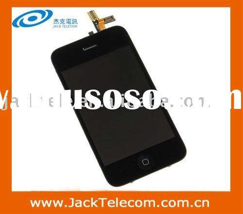 For iPhone 3GS LCD Display Screen With Digitizer Touch Panel White