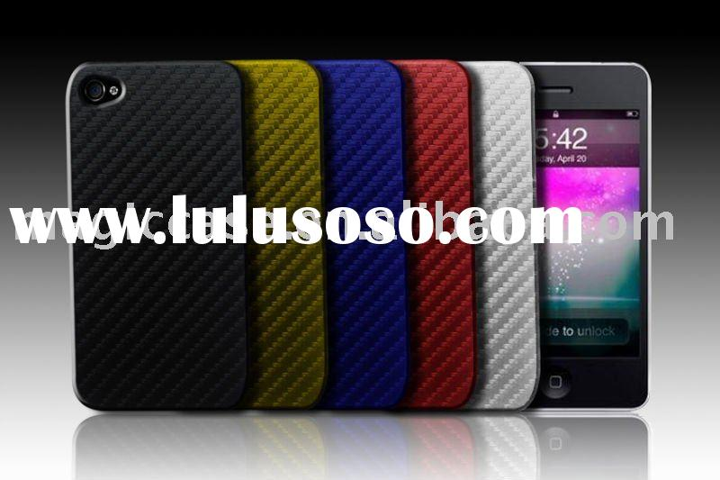 For iphone 4g case:For iphone 4 carbon fiber case