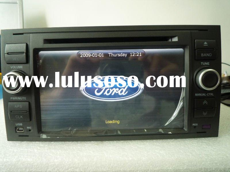Ford Focus car dvd player with 7inch touch screen bluetooth, Radio, IPOD, FM/AM, built-in GPS