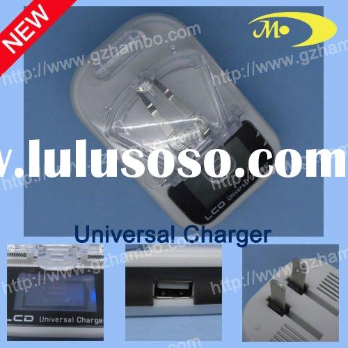 GSM universal charger LCD USB battery charger