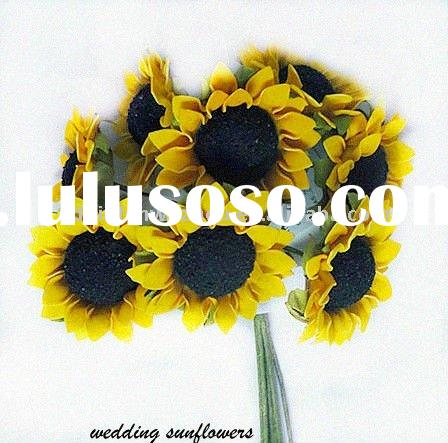 Giant Artificial Flowers Sunflowers for Wedding Decorations