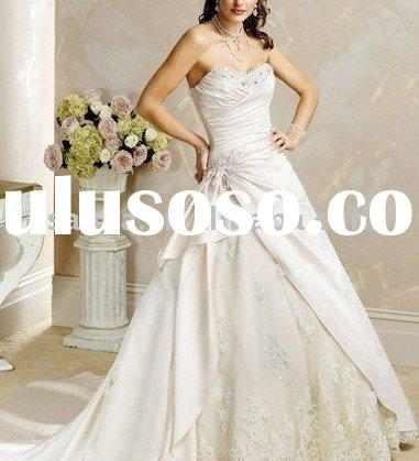 HTB04.Custom-Made bridal wedding dress,wedding gown,bridal gown ,bridal veil