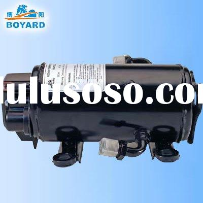 HVAC DC 12/24v air conditioner compressor for cabin of truck sleeper mining machine grab excavator