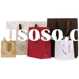 Heavy Duty Matte Recycled Kraft Bags,paper gift bag,kraft paper bag,shopping bag,packaging bag,handl