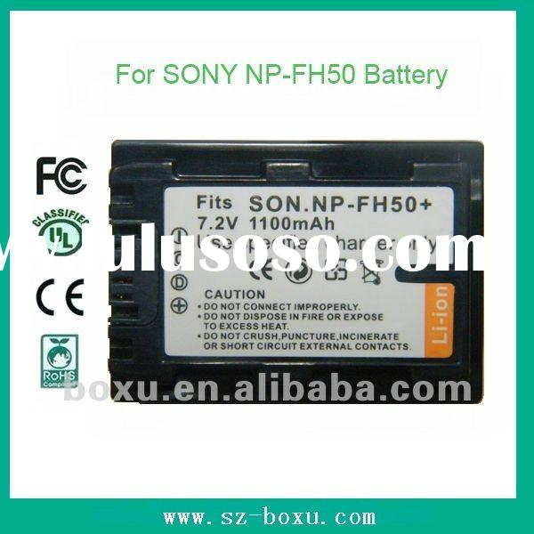 High Quality OEM for SONY NP-FH50 NP FH50 replacement recharge digital li-ion polymer Battery