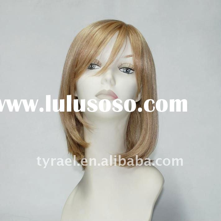 High quality human hair blonde full lace wig