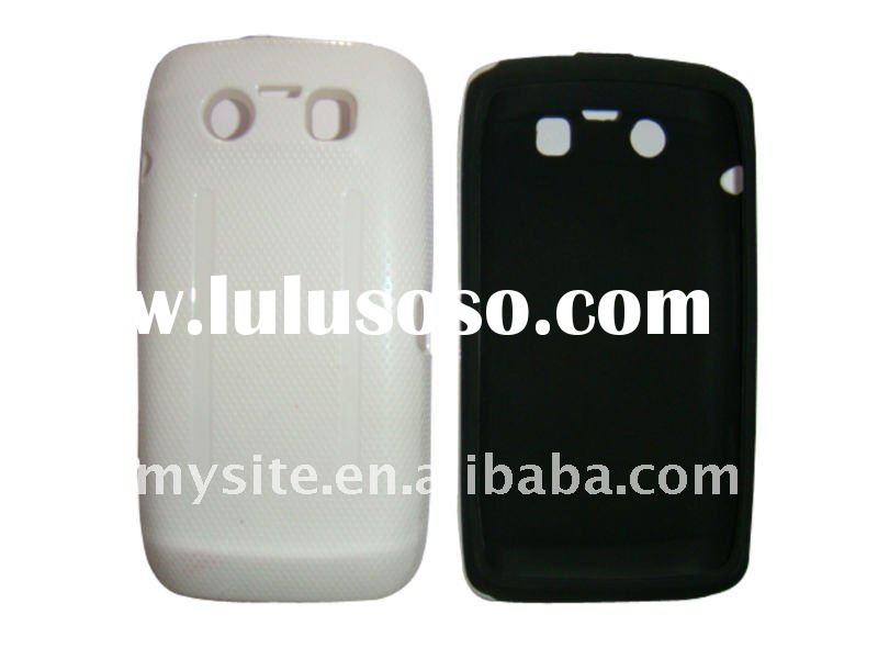 Hot Sale! Protective Cell Phone Silicon+PC Combo Case for Blackberry Curve 9860