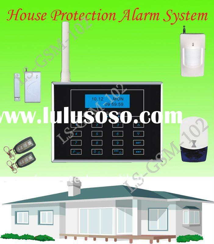 Hot Touchpad GSM Security Alarm System Wireless(LS-GSM-102)