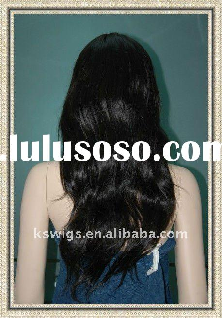 Hot sale!!!~ 100% Human hair invisible full lace wigs cheap