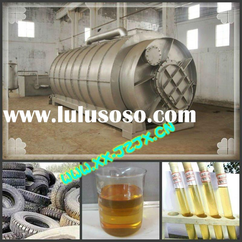 How to Management Agricultural Waste?Waste Plastic /Tyre Oil Refining Equipment
