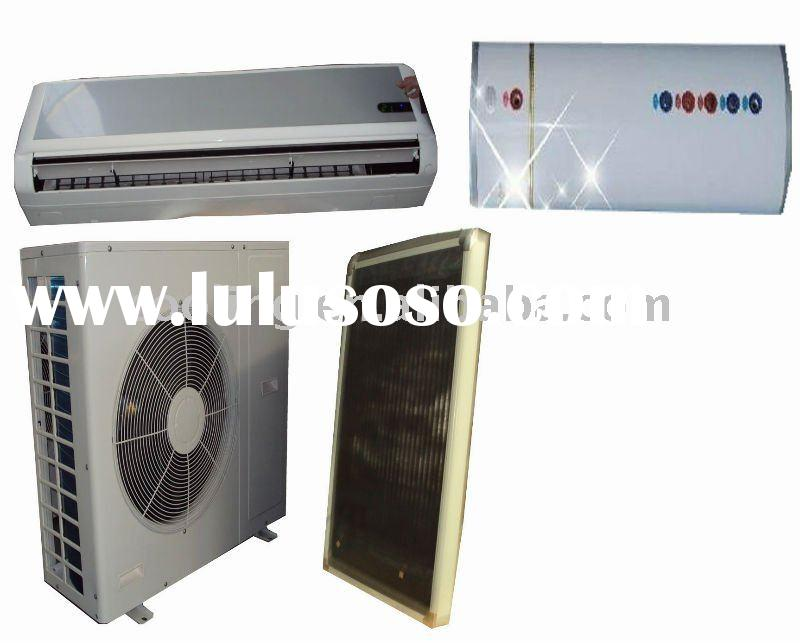 Hybrid Solar AC Solar Water Heater,solar air conditioner and water heater,soar water heater air cond