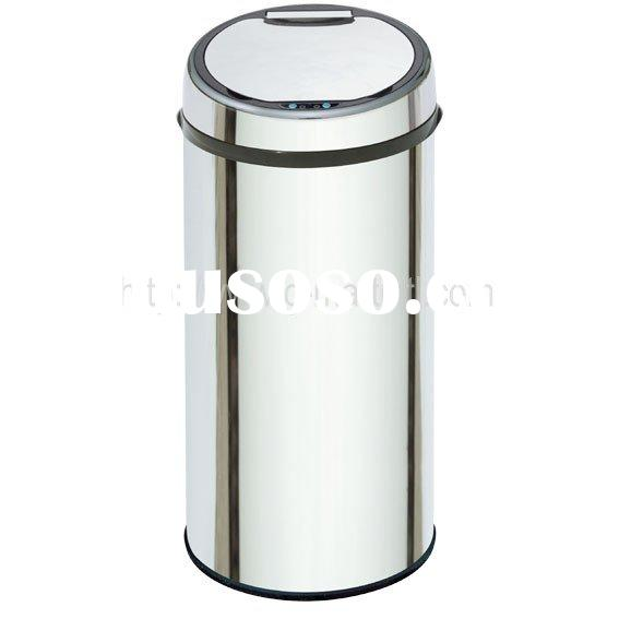 Hygeian Stainless Steel Automatic Trash Bin, Sensor Waste Bin with 50L