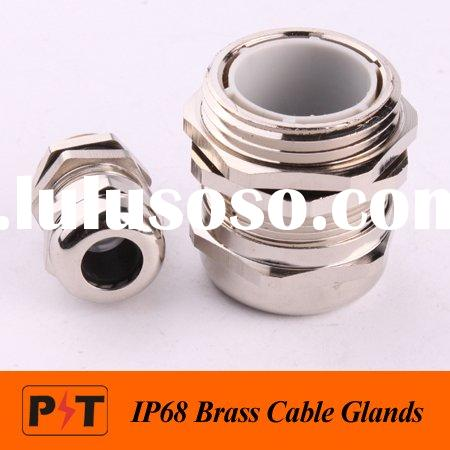 IP68 Nickel Plated Cable Glands