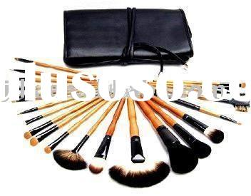 JDK-PM8018 22pcs professional cosmetic brushes/makeup brush set
