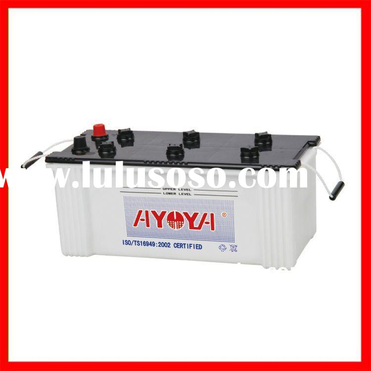 JIS Dry Charged 12V Auto Battery 68025 12V180AH