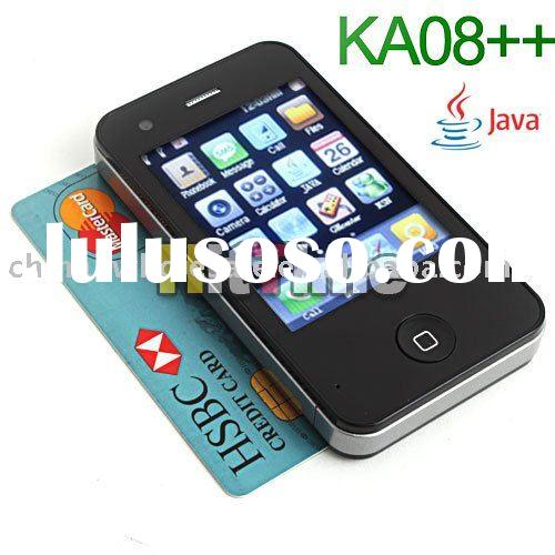 KA08++ 2.4'' Quad Band Dual Sim TV FM JAVA Cell Phone Wholesale