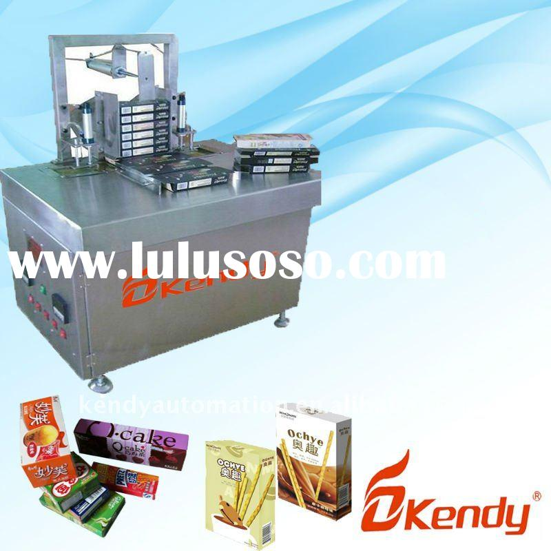 KD-H100 semi-automatic box sealing machine,carton box sealing machine