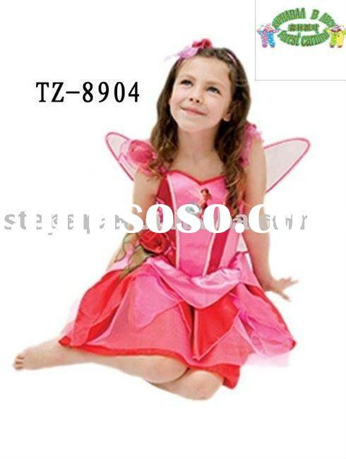 Kids Butterfly Fairy Dress For