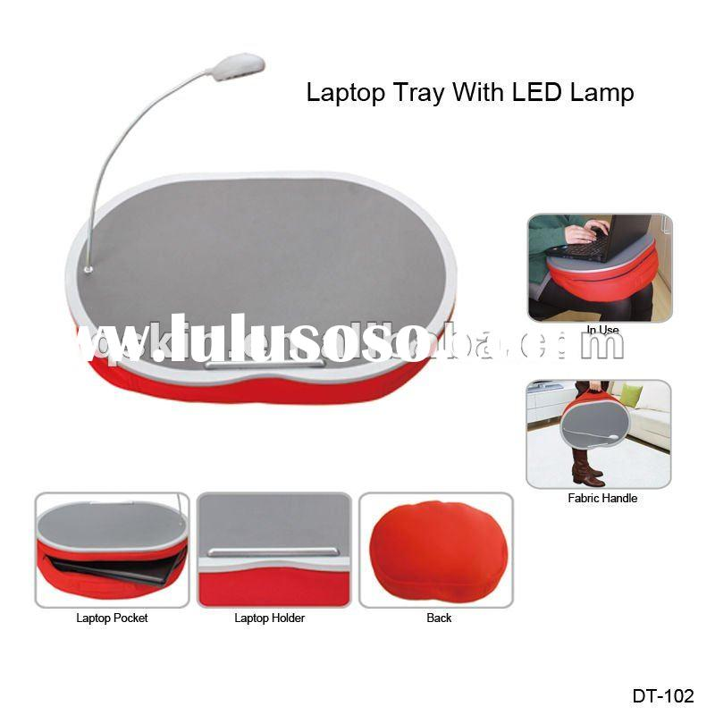 Laptop Computer Desk with LED Lamp