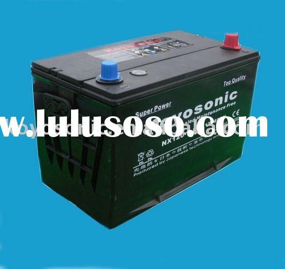 Lead Acid Starting Sealed Maintenance Free Car Battery with Lead Calcium Technology-12V80AH