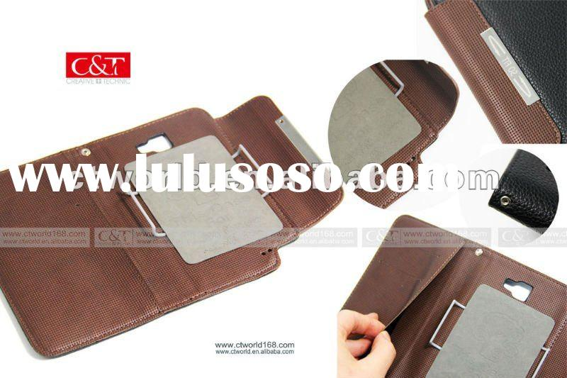 Leather Flip Pouch Case Cover For Samsung Galaxy Note i9220