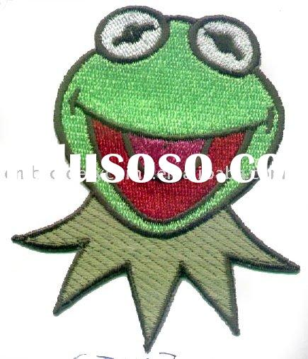 Lovely Cartoon Patch iron on applique sticker for the children's clothing.