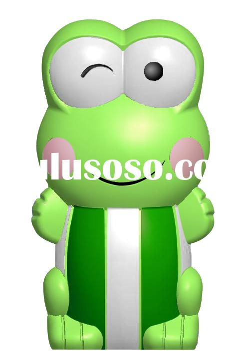 Lovely Frog USB flash disk, cartoon flash drive,gift usb stick