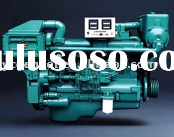 Lower fuel consumption 195HP marine diesel engine