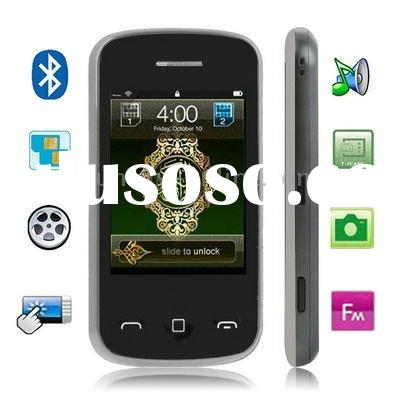 M2012 Black, Bluetooth FM Function Quran Mobile Phone with 4GB TF Card, Dual Sim cards Dual standby,
